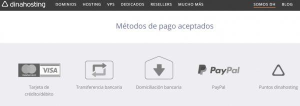 hosting web pago