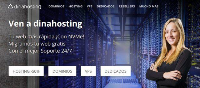 dina hosting web