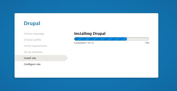 Instalar este gestor en vuestra será muy fácil, lo primero será descargar Drupal desde su página oficial