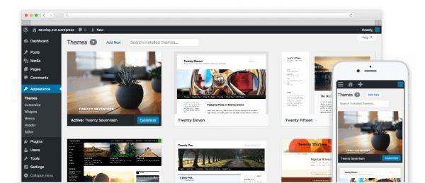 wordpress hosting temas